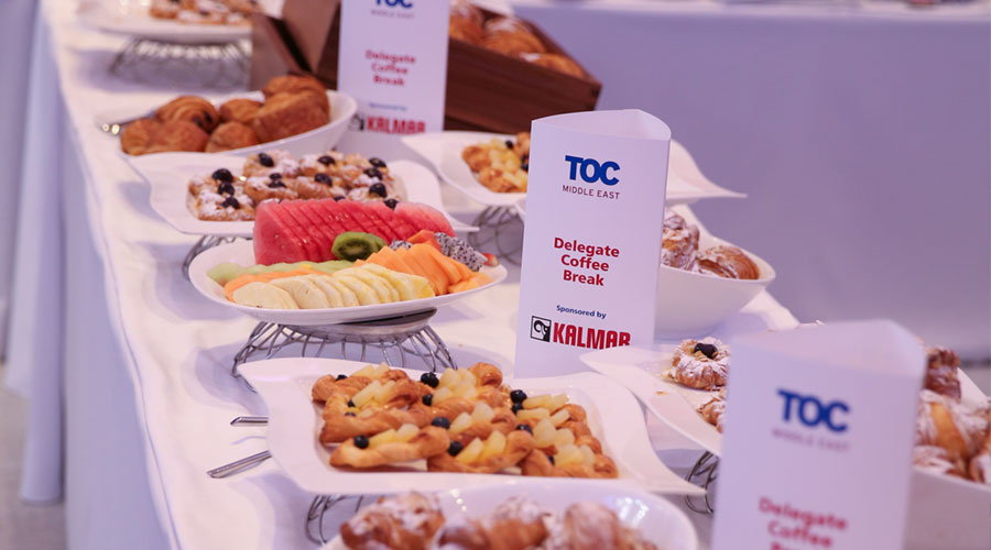 TOC Asia  Delegate Lunch sponsorship